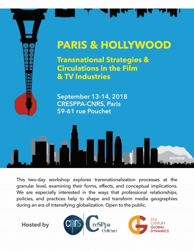 Paris and Hollywood workshop flyer