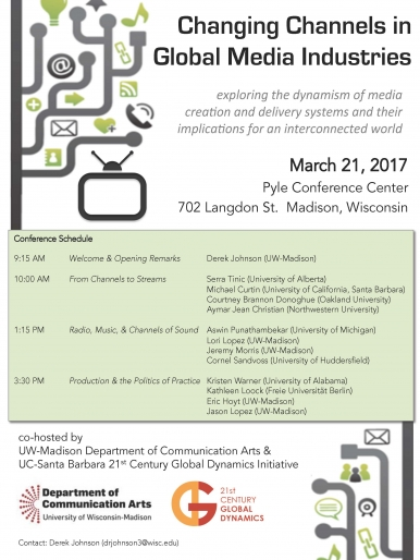 Changing Channels - conference poster