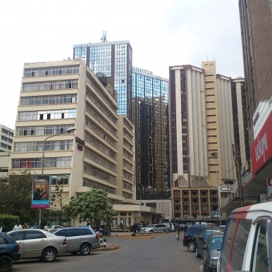 Nairobi office buildings