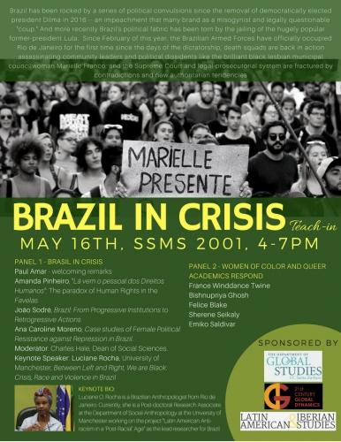 Brazil In Crisis poster