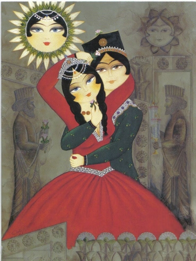 Persian Valentine's Day - traditional image