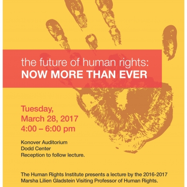 UConn event poster