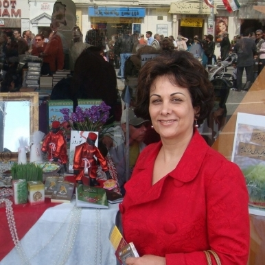 Janet Afary during Persian New Year in Los Angeles