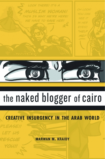 The Naked Blogger of Cairo cover